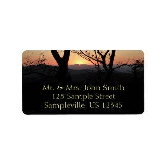 Shenandoah Sunset National Park Landscape