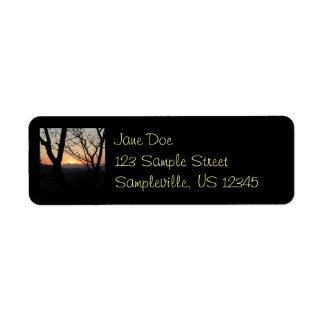 Shenandoah Sunset National Park Landscape Return Address Label