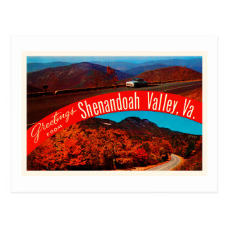 Shenandoah Valley Virginia VA Vintage Postcard- Postcard