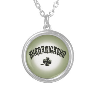 Shenanigator 117 silver plated necklace