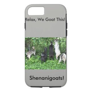 Shenanigoats iPhone 7 Case