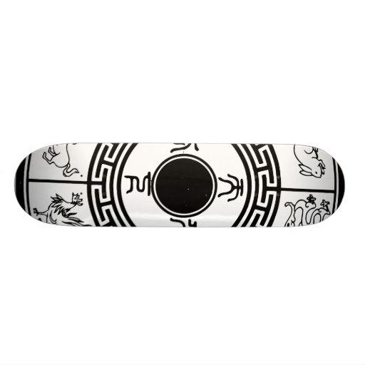 Sheng xiao, Chinese Zodiac Custom Skate Board