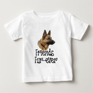 "sheperd ""Friends Fur-ever"" Baby T-Shirt"