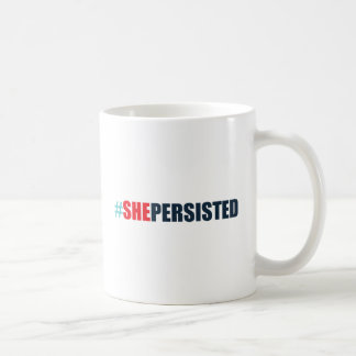 #shepersisted coffee mug