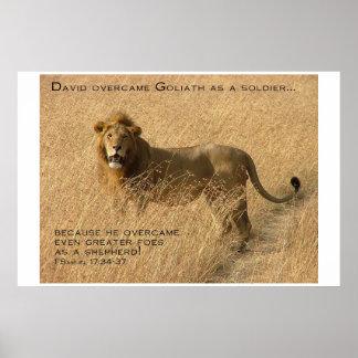 Shepherd Encouragement Poster