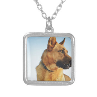 shepherd silver plated necklace