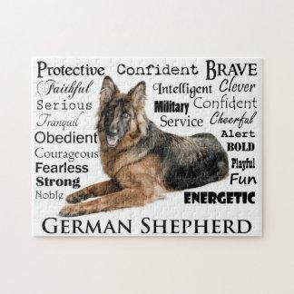 Shepherd Traits Puzzle