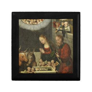 Shepherds Adoring Baby Jesus by Cranach Gift Box