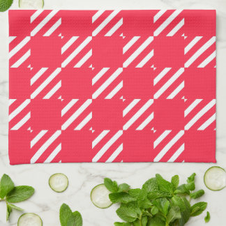 Shepherd's Check, Customize, Change color Kitchen Towel