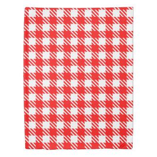 Shepherd's Check, stripe, Customize, Change color Duvet Cover
