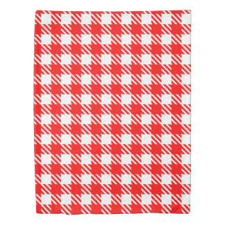 Shepherd's Check, stripe, Customize, Change colour Duvet Cover