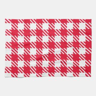 Shepherd's Check, stripe, Customize, Change colour Kitchen Towel