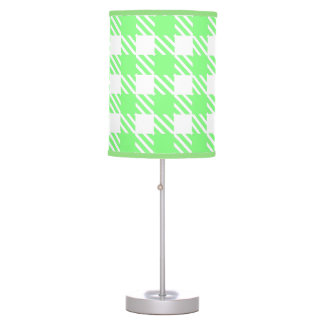 Shepherd's Check, stripe, Customize, Change colour Table Lamp