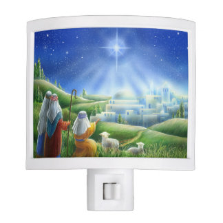 Shepherds Come to Bethlehem Night Light