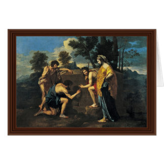 Shepherds In Arcadia (Et In Arcadia Ego), Card