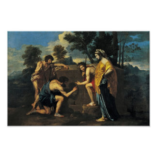 Shepherds In Arcadia (Et In Arcadia Ego), Poster
