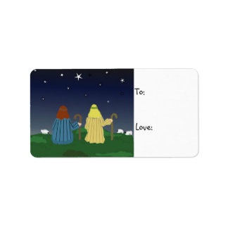 Shepherds in the Field Gift Tag