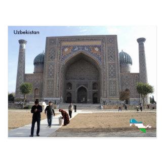 Sher-Dor Madrasah, Samarkand, Uzbekistan Postcard