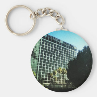 sheraton universal hotel studios LA Basic Round Button Keychain