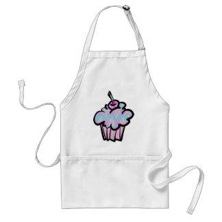 sherbert argyle pattern cupcake standard apron