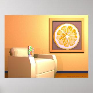 Sherbert Lemon Poster