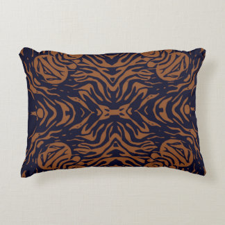 Sherbert Zebra Abstract Accent Pillow