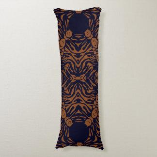 Sherbert Zebra Abstract Body Pillow