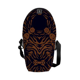 Sherbert Zebra Abstract Courier Bag