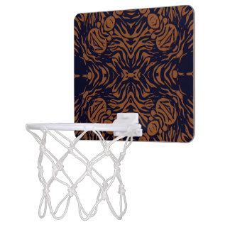 Sherbert Zebra Abstract Mini Basketball Backboard