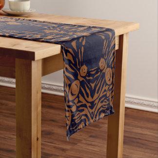 Sherbert Zebra Abstract Short Table Runner