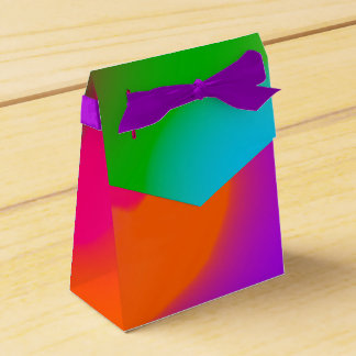Sherbet Colors Favor Box