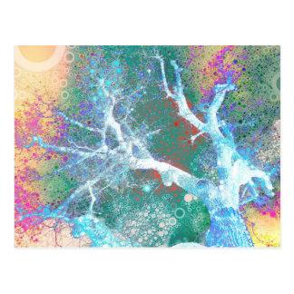 Sherbet Oak Postcard