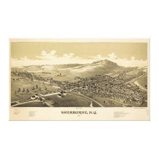 Sherburne New York (1887) Canvas Print