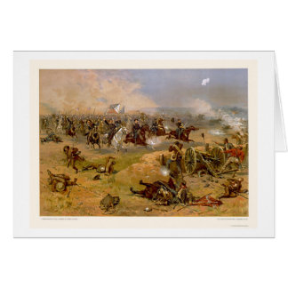 Sheridan's Final Charge by L. Prang & Company 1886 Card