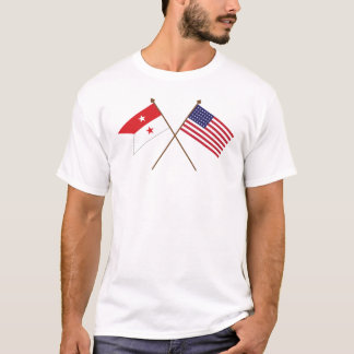 Sheridan's Guidon - 35-Star Civil War Flag T-Shirt