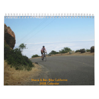 Sherie and Ben Bike California Calendar