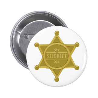 Sheriff 2 Inch Round Button