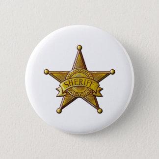 Sheriff 2 Inch Round Button