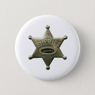 Sheriff Arizona 2 Inch Round Button