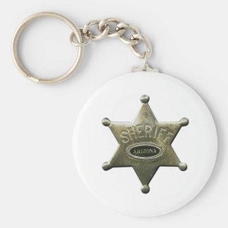 Sheriff Arizona Keychain