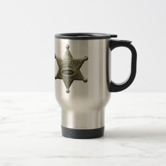 Sheriff Arizona Travel Mug