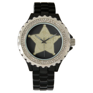 Sheriff Badge Cowboy Western Watch