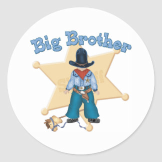 Sheriff Big Brother Sticker