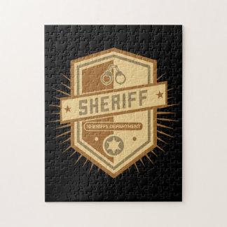 Sheriff Crest Jigsaw Puzzle