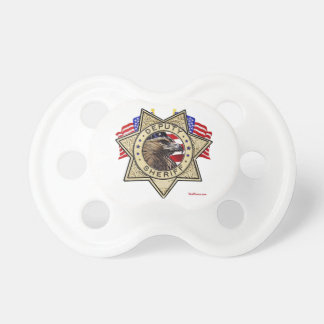 Sheriff Deputy Badge Pacifier