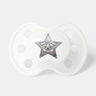 Sheriff Deputy Badge Pacifier