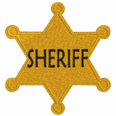 Sheriff Embroidered Shirt