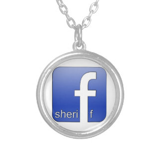 Sheriff Facebook Logo Unique Gift Popular Template Pendants
