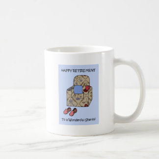 Sheriff Happy Retirement Coffee Mug