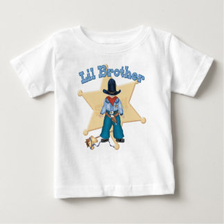 Sheriff Little Brother Baby T-Shirt